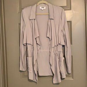 Light Grey Utility Jacket